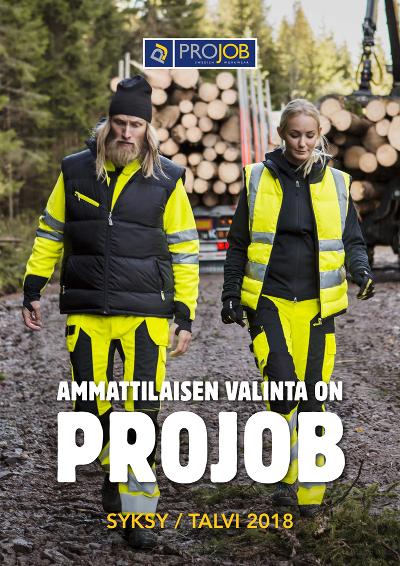 PROJOB - TOP 30 työvaatteet SYKSY / TALVI 2018