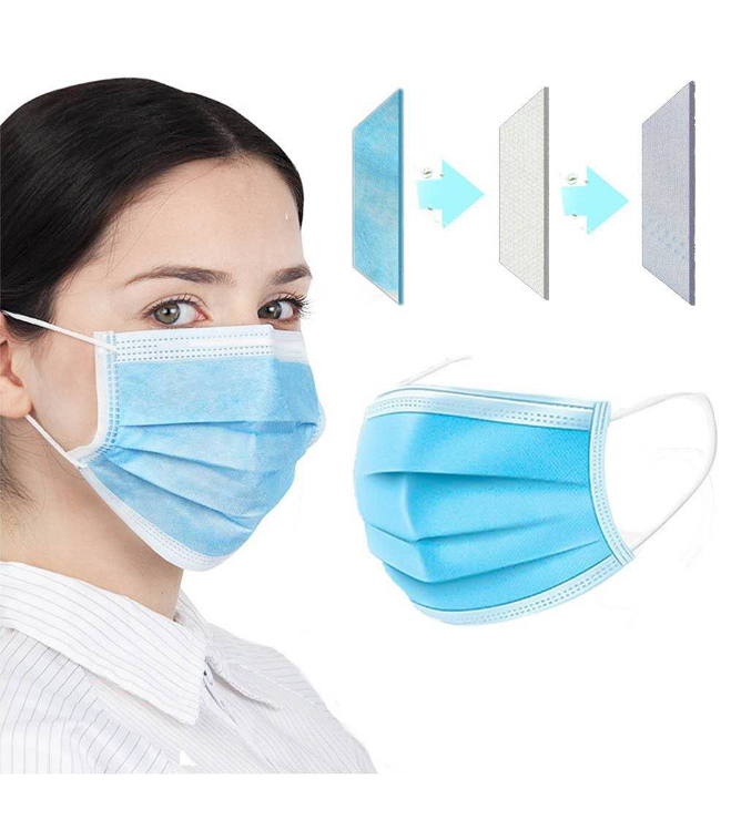 Kertakäyttöinen hengityssuojain