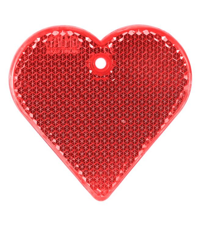 Kova sydän heijastin