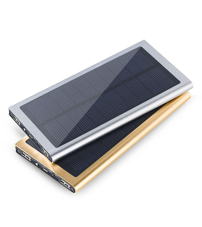 Solar Charger- aurinkokenno powerbank