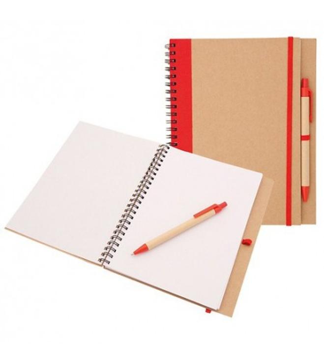EKO A5- muistikirja kynällä
