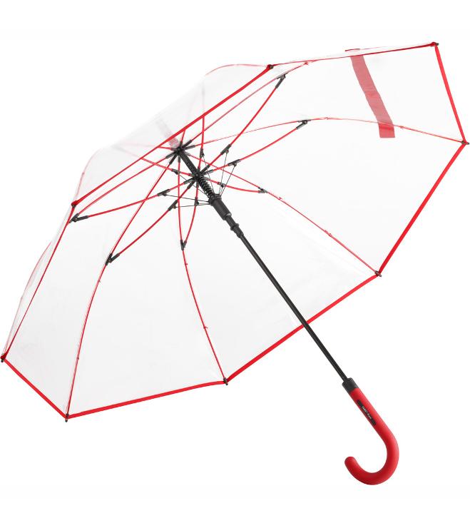 Fare- transparent sateenvarjo 7112