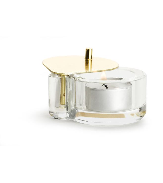 Sagaform-Swing kristalli-kynttilätuikku