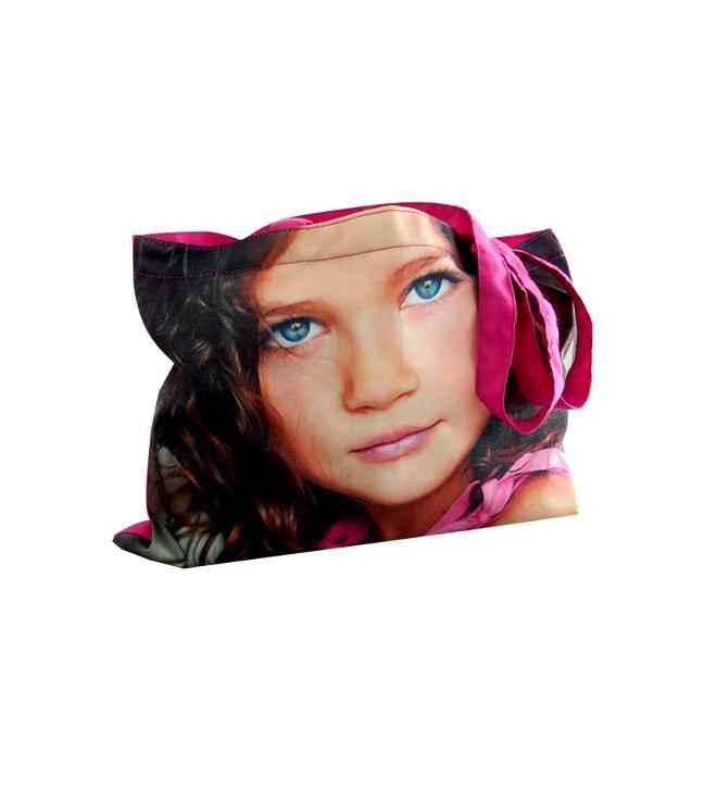 Polyesteri -kassi valokuvapainatuksella