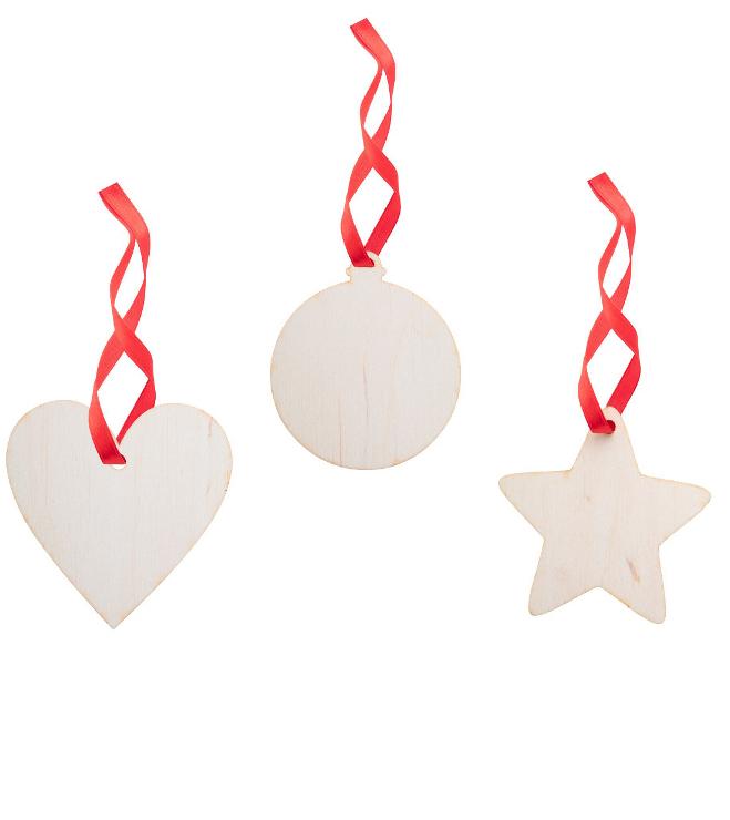 Puinen joulukuusenkoriste